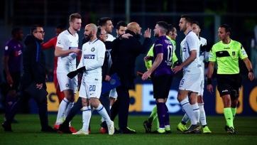 Арбитр матча «Фиорентина» – «Интер» отстранен от судейства