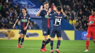 «ПСЖ» разгромил «Дижон» и вышел в полуфинал Кубка Франции