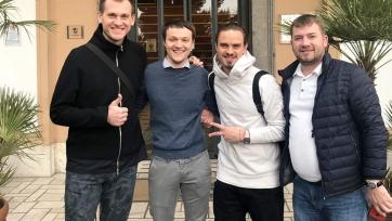 Спартаковцы Ребров и Ещенко прошли плановый медосмотр в Италии