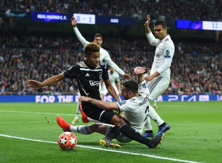 «Реал» – «Аякс» - 1:4. Текстовая трансляция матча