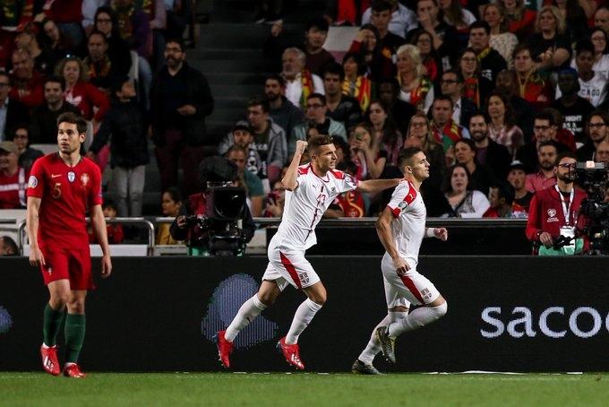 Португалия – Сербия - 1:1. Текстовая трансляция матча