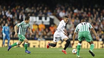 «Валенсия» переиграла «Бетис» и вышла в финал Кубка Испании