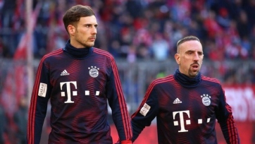 Два футболиста «Баварии» не успели восстановиться к матчу с Гладбахом. Рибери тоже не сыграет