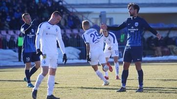 Киевское «Динамо» переиграло в гостях черниговскую «Десну»