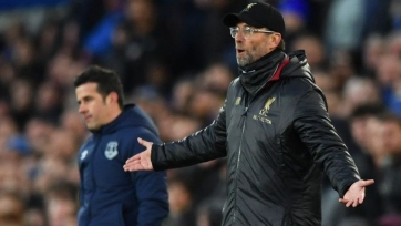 «Ливерпуль» потерял очки в дерби с «Эвертоном» и отдал лидерство «Манчестер Сити»