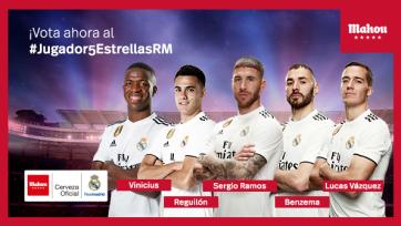 Пять футболистов «Реала» номинированы на звание лучшего игрока месяца