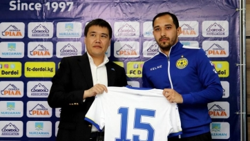 Экс-защитник «Акжайыка» подписал контракт с чемпионом Кыргызстана