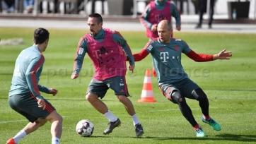 Сразу три игрока «Баварии» приступили к тренировкам в общей группе