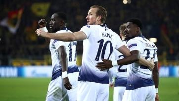 «Тоттенхэм» во второй раз обыграл «Боруссию» и вышел в четвертьфинал Лиги чемпионов