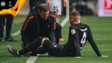 «Айнтрахт» перед матчем с «Интером» потерял одного из ключевых игроков