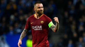 «Рома» потеряла капитана в ответном матче с «Порту»