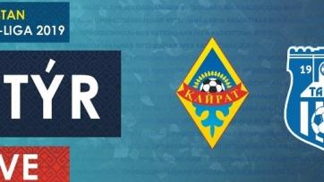 Чемпионат Казахстана. «Кайрат» – «Тараз». Смотреть онлайн. LIVE трансляция