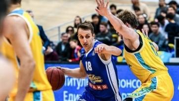 «Астана» проиграла «Калеву» в матче ВТБ