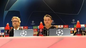 Ковач: «Если мы хотим пройти дальше, должны побеждать. 0:0 не будет»