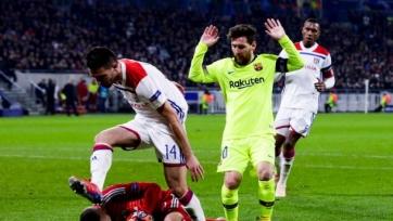 «Барселона» – «Лион» - 5:1. Текстовая трансляция матча