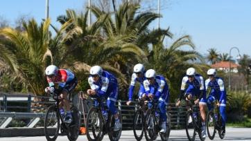 «Астана» стала 13-й на первом этапе «Тиррено-Адриатико-2019»