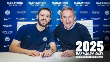 Бернарду Силва подписал новый контракт с «Манчестер Сити»