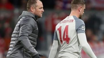 У капитана «Ливерпуля» вывих голеностопа