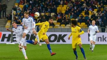 Киевское «Динамо» потерпело самое крупное в истории домашнее поражение украинских клубов в еврокубках