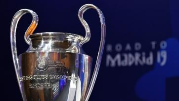 Стало известно расписание матчей 1/4 финала Лиги чемпионов