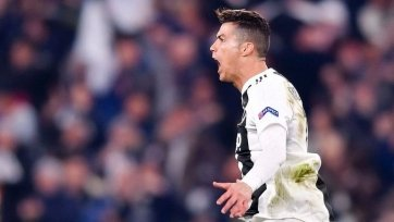 Роналду – лучший игрок недели Лиги чемпионов