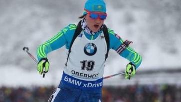 Вишневская помогла сборной Казахстана попасть в топ-20 женской эстафеты