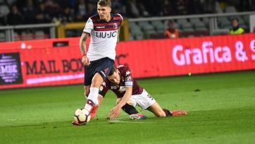 «Болонья» справилась на выезде с «Торино»