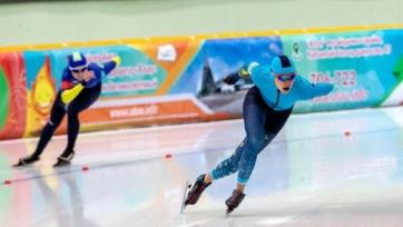 Конькобежный спорт. Айдова установила рекорд Казахстана и выиграла международный турнир в Калгари