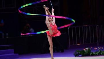 Казахстанская гимнастка стала пятой на турнире в Греции
