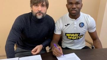 Донецкий «Олимпик» подписал нигерийского защитника