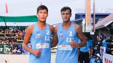 Пляжный волейбол. Казахстанцы завоевали бронзу на чемпионате Азии