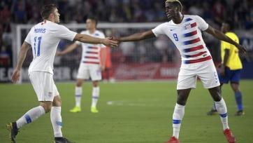 США в товарищеском матче обыграли Эквадор. Видео