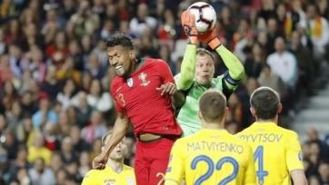Сборная Португалии дома не смогла обыграть Украину