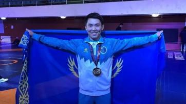 Кызыров и Сырлыбай - чемпионы Азии U-23 по греко-римской борьбе