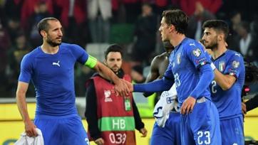 Последние 15 голов сборной Италии забили 15 разных футболистов