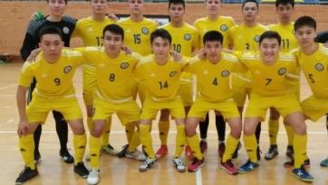 Юношеская сборная Казахстана по футзалу победила в товарищеском матче
