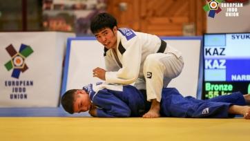 Казахстанцы завоевали семь медалей на Кубке Европы по дзюдо