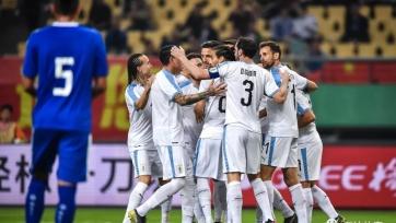 Уругвай разгромил Таиланд в финале China Cup
