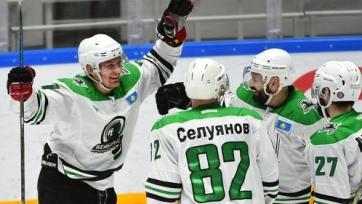 Определился первый финалист чемпионата Казахстана по хоккею