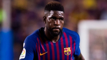 «Барселона» рассматривает возможность продажи Умтити в «Манчестер Юнайтед»