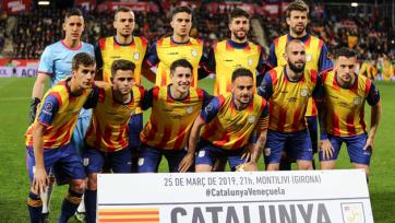 Каталония с Пике и Видалем в составе переиграла Венесуэлу в товарищеском матче
