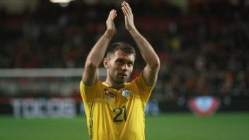 Защитник сборной Украины получил травму в матче с Люксембургом