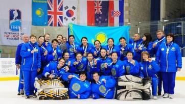 Стал известен календарь игр женской сборной Казахстана по хоккею на ЧМ