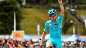 Мигель Анхель Лопес – 5-й на третьем этапе «Вуэльты Каталонии»