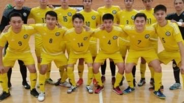 Мини-футбол. Сборная Казахстана стартовала с поражения в отборе на юношеский чемпионат Европы