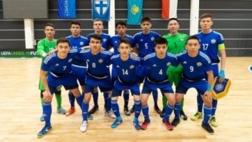 Казахстанские юноши проиграли во втором матче отбора на футзальный Евро
