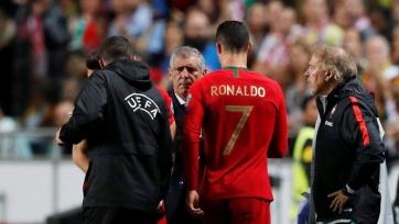 Роналду показал, как восстанавливается после травмы. Видео