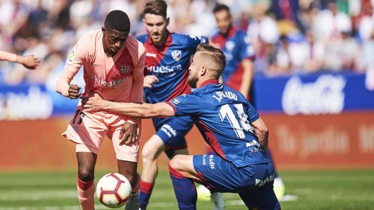 «Уэска» – «Барселона» – 0:0. 13.04.2019. Чемпионат Испании. Обзор и видео матча