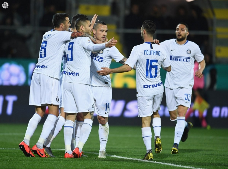 «Фрозиноне» – «Интер» – 1:3. 14.04.2019. Чемпионат Италии. Обзор и видео матча