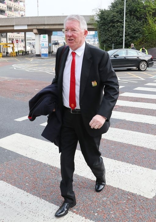 Фергюсон отправился в Барселону вместе с «Манчестер Юнайтед». Фото